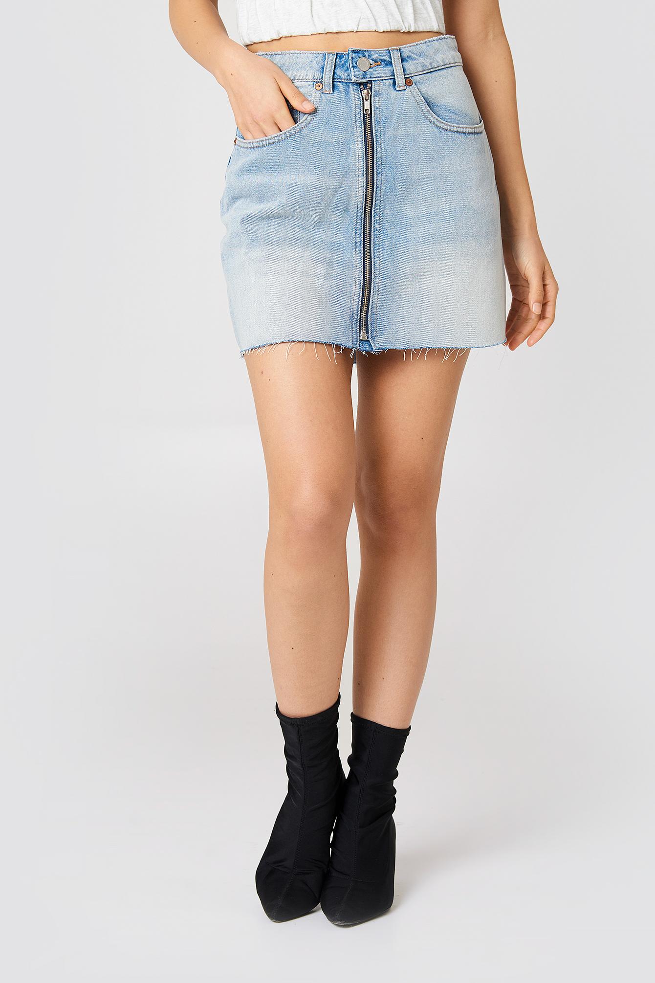 Zip Short Skirt NA-KD.COM