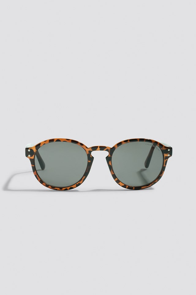 Cytric Sunglasses Brown Turtle