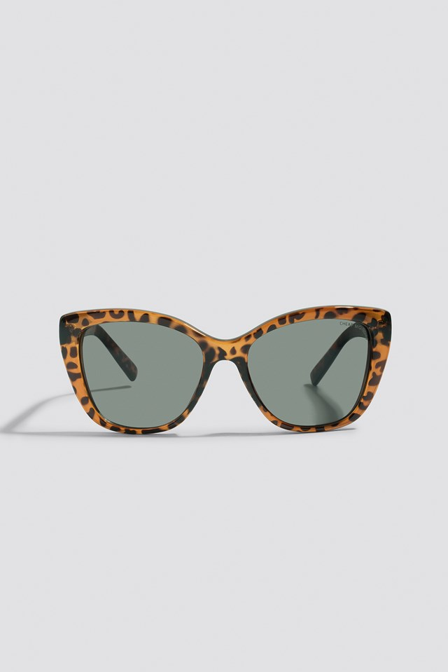 Forever Sunglasses Brown Turtle