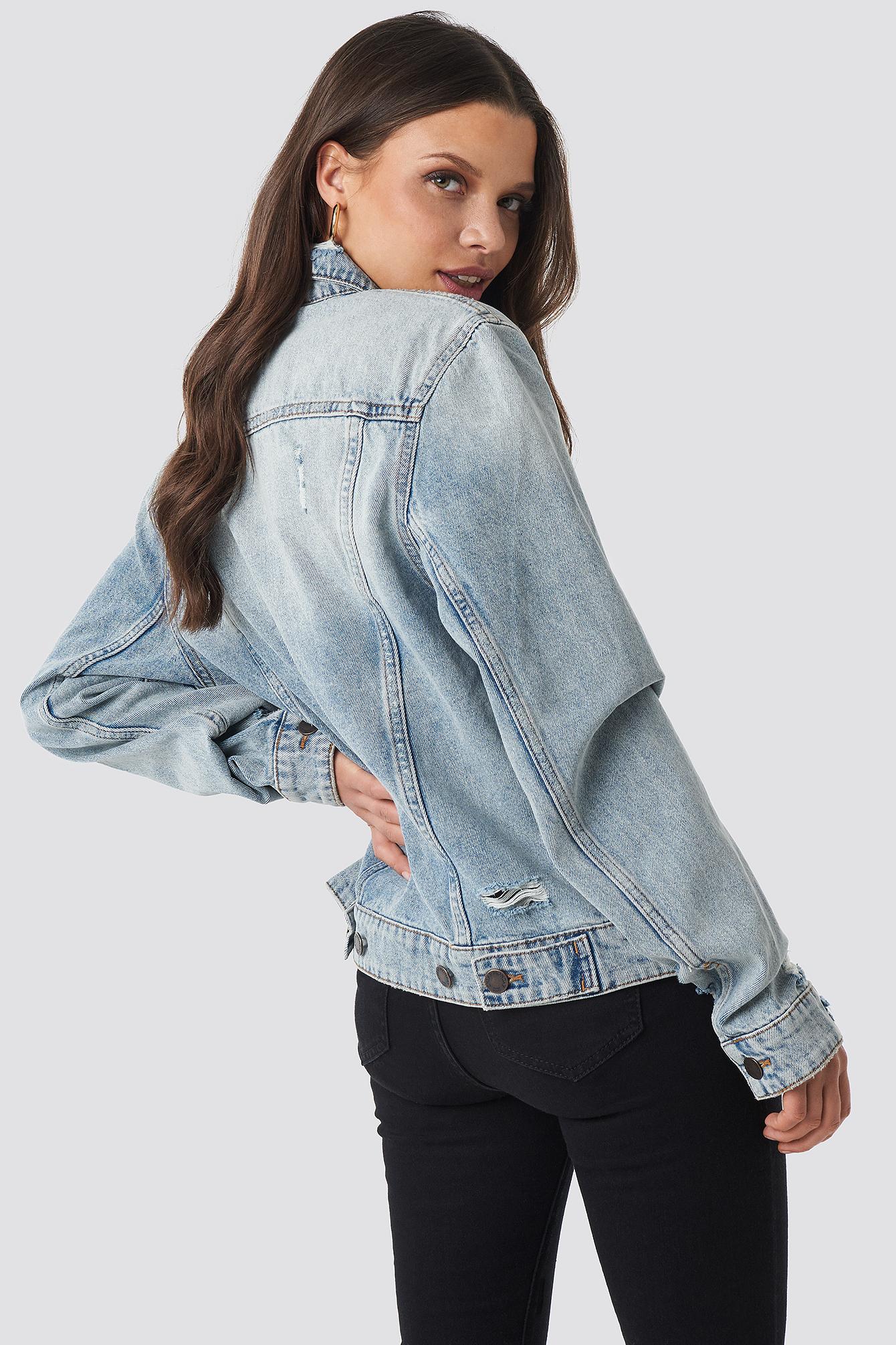 Legit Jacket Hex Blue NA-KD.COM