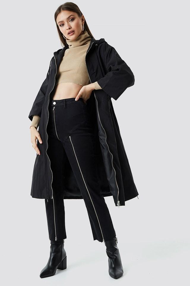 Anorak Jacket Black