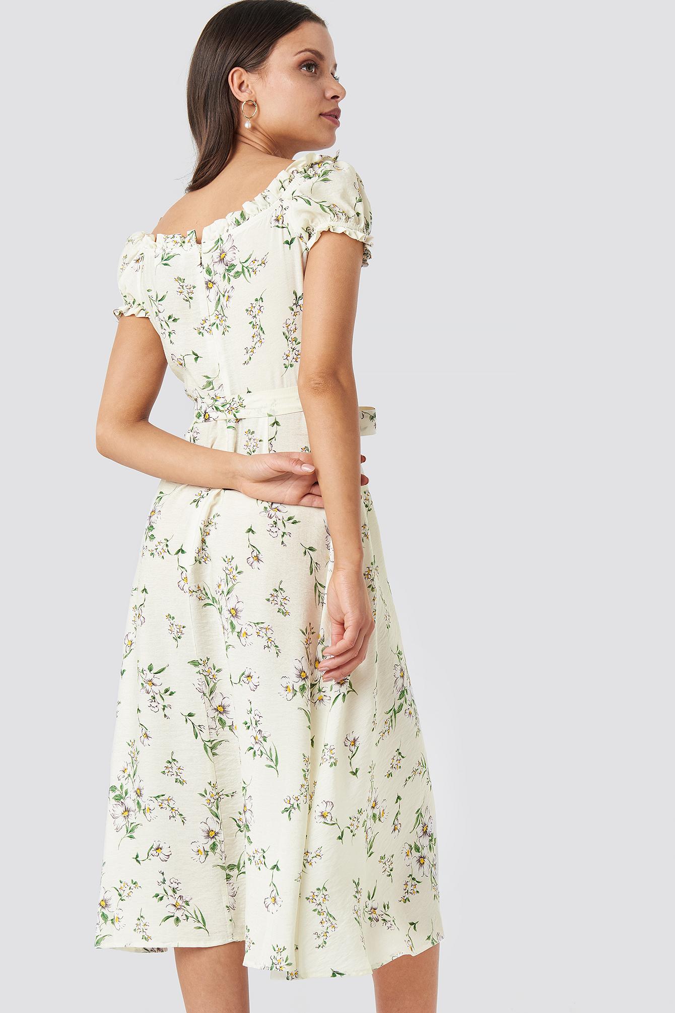 Off Shoulder Midi dress NA-KD.COM