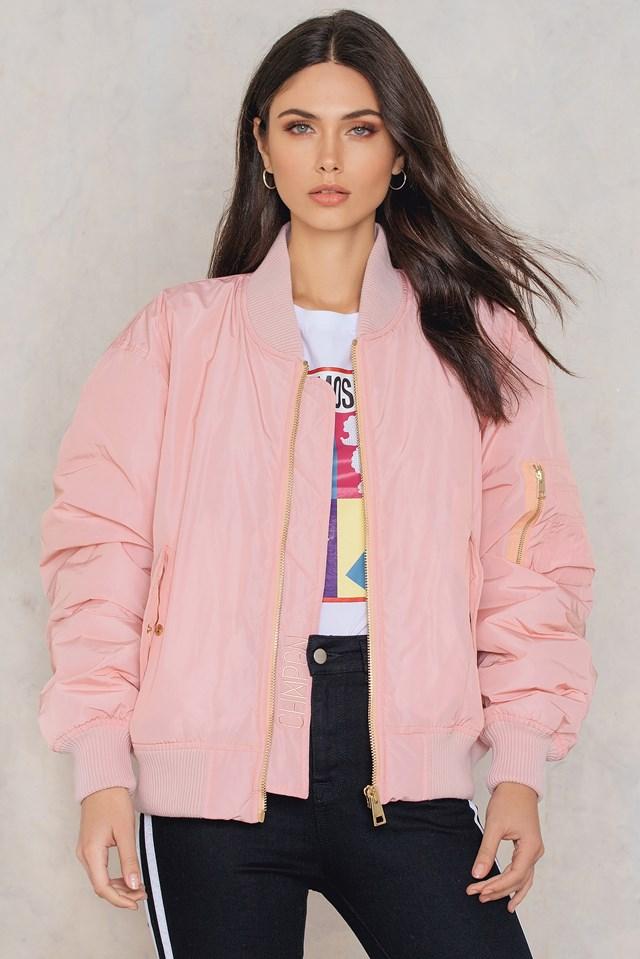 Bomber Oversized Blush Pink
