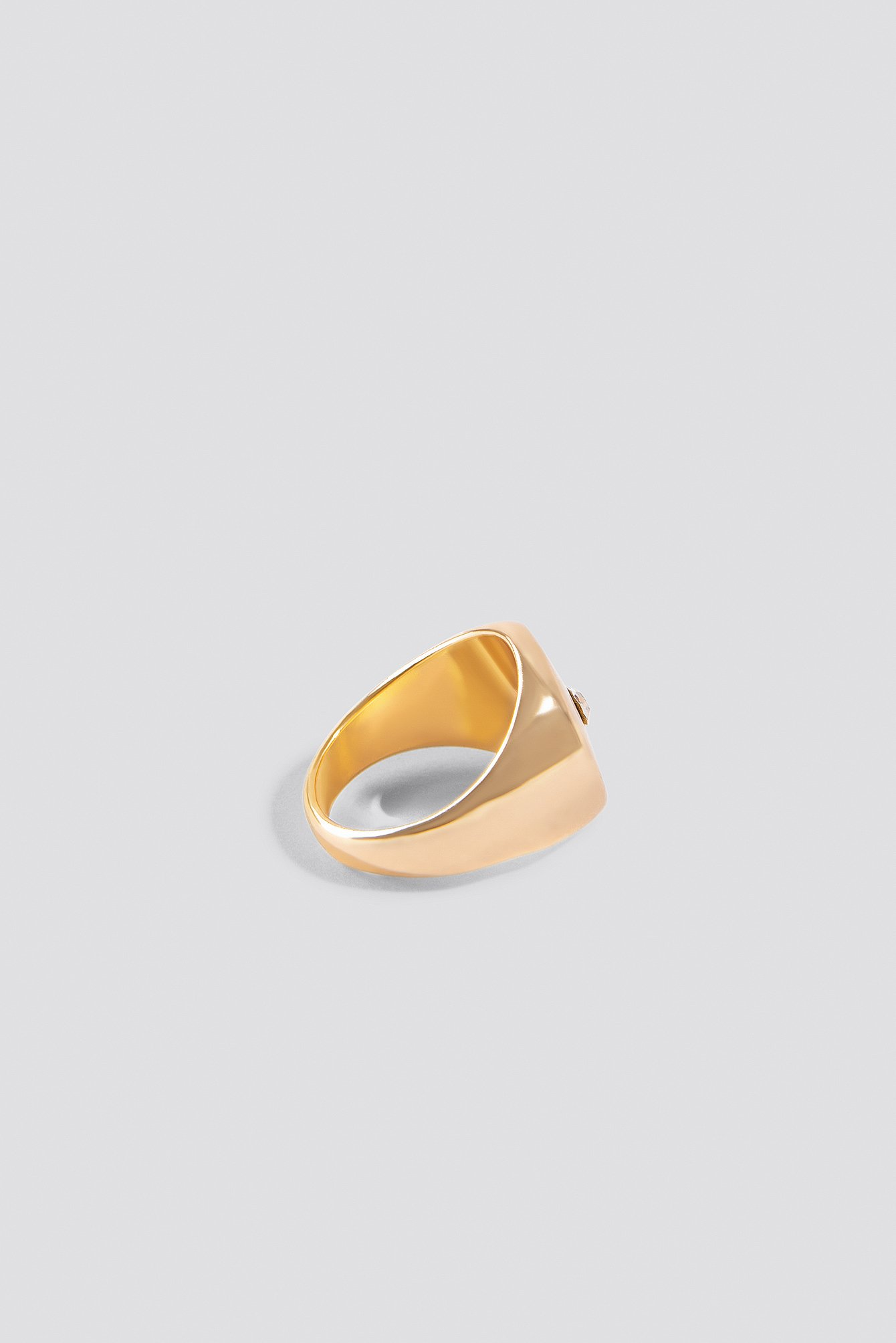 Signet Gold Ring NA-KD.COM