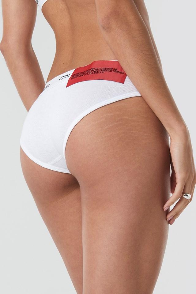 Bikini Coordinate Panties White