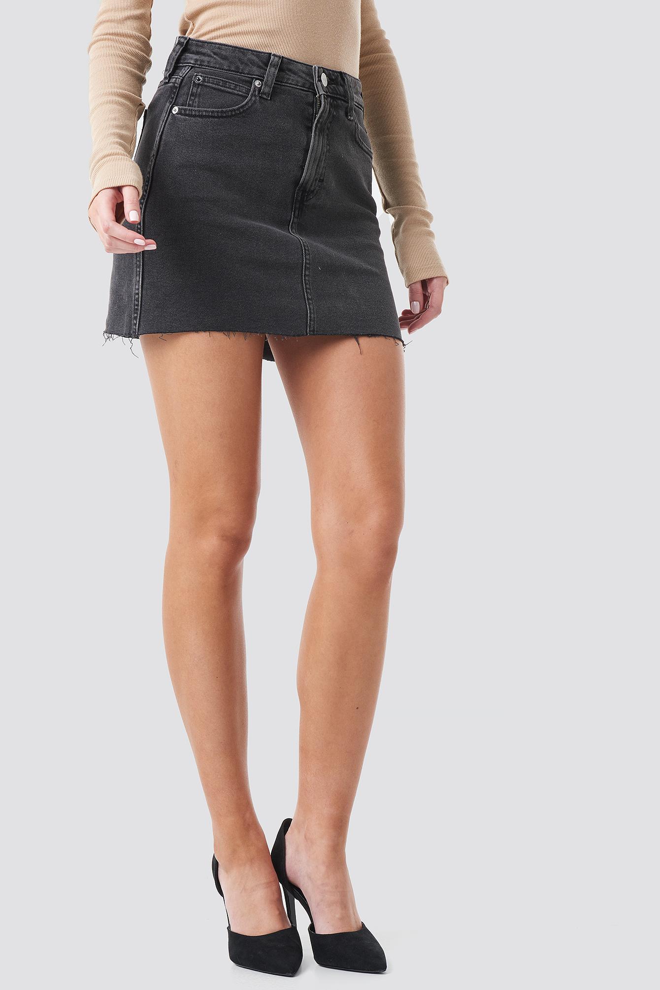 Mid Rise Skirt NA-KD.COM
