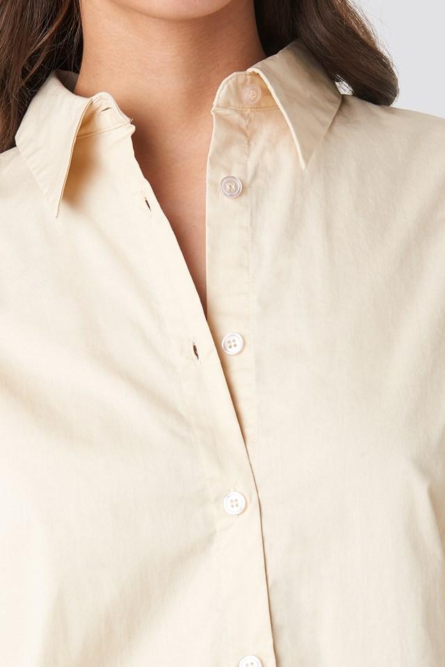 Oversized Shirt Cream