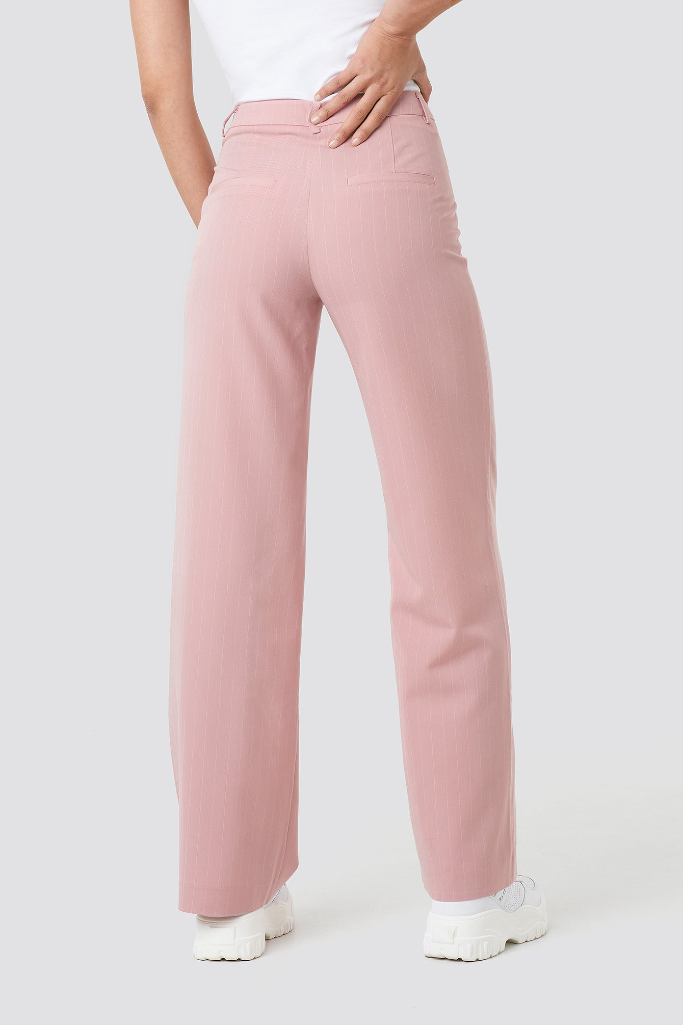 Pinstriped Wide Suit Pants NA-KD.COM