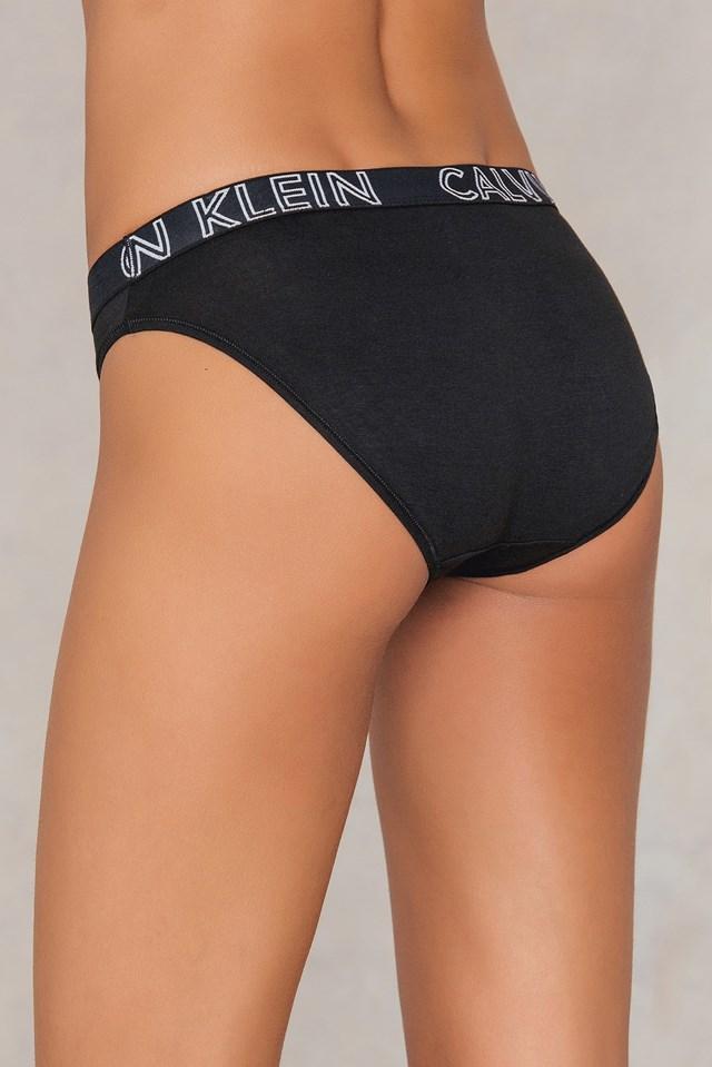 Ultimate Cotton Bikini Black