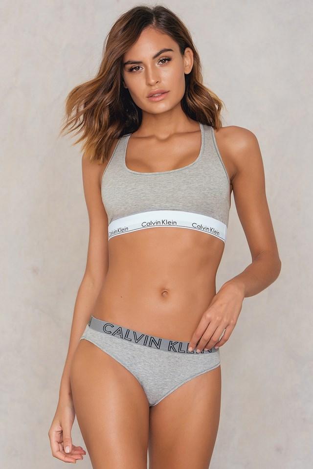 Ultimate Cotton Bikini Grey Heather