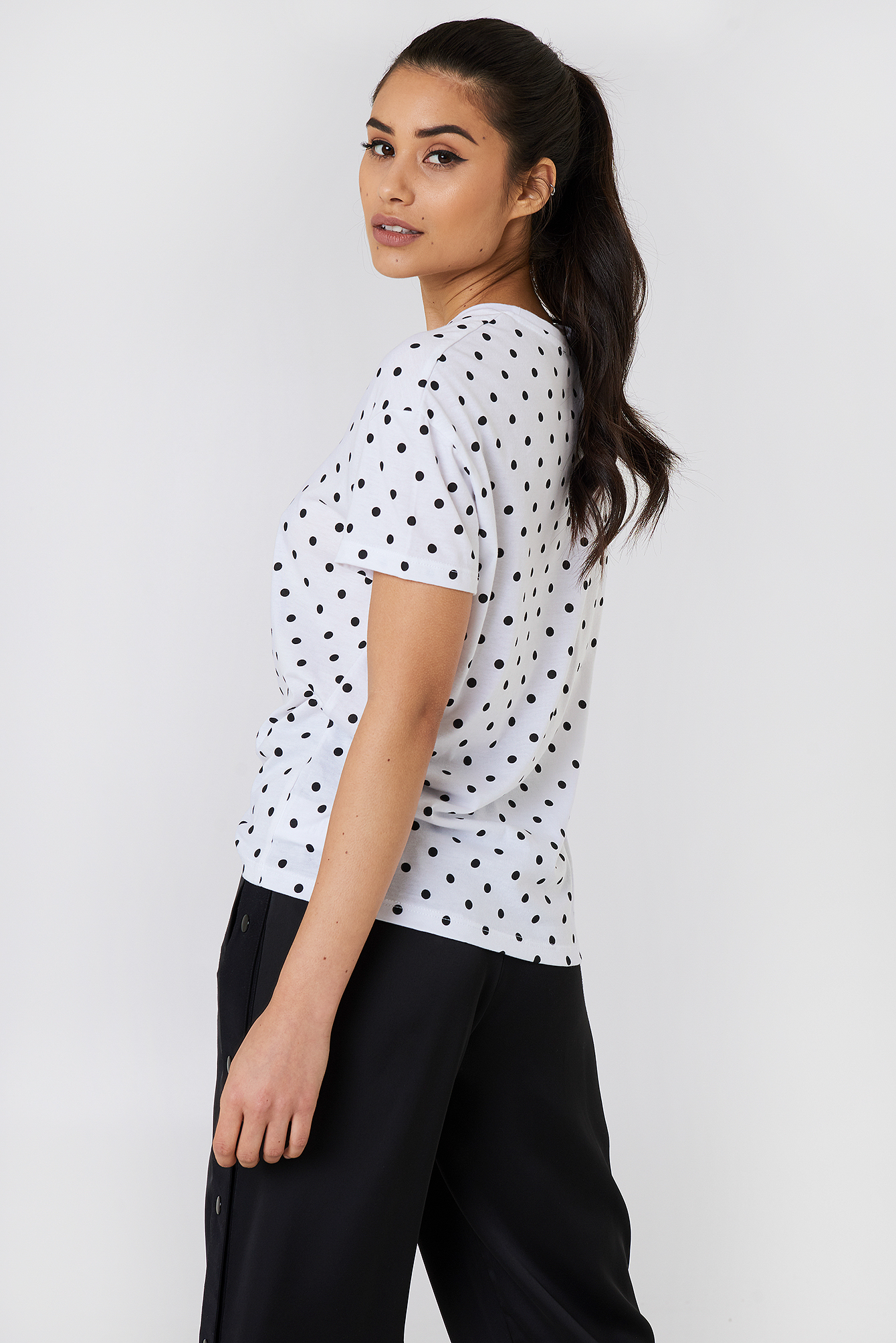 T-shirt Rebel Frame Dots NA-KD.COM
