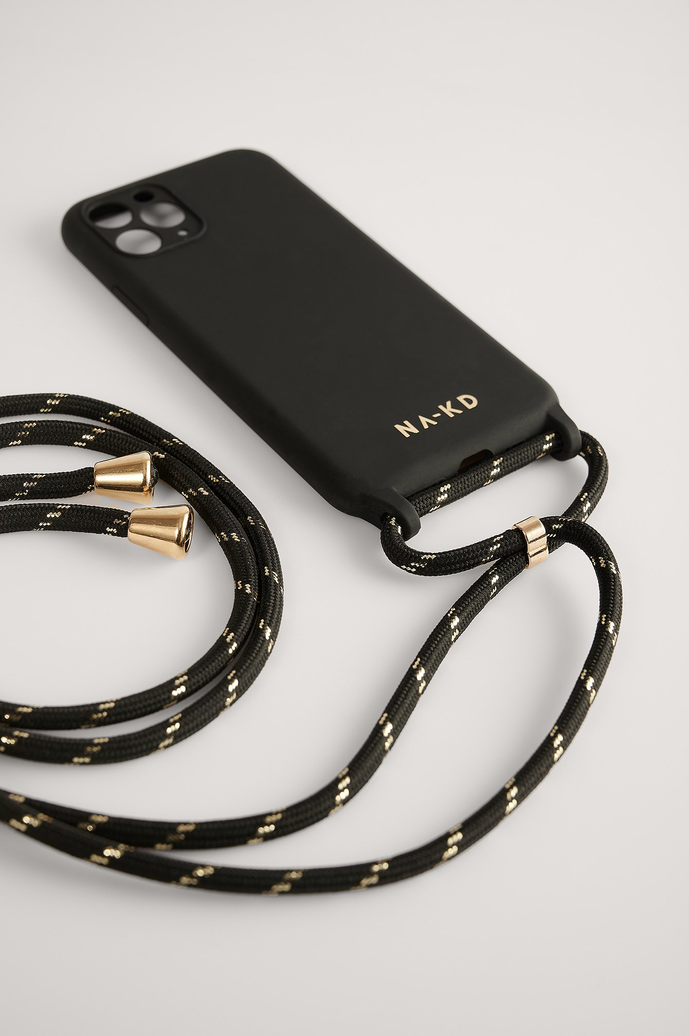 Black Cord Strap Phone Case