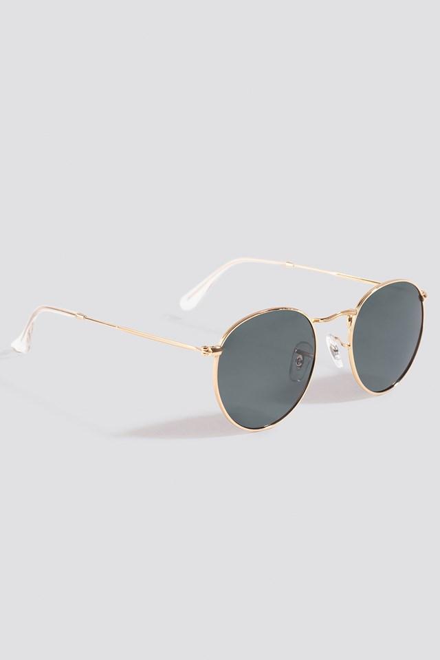 Lecce Sunglasses Gold