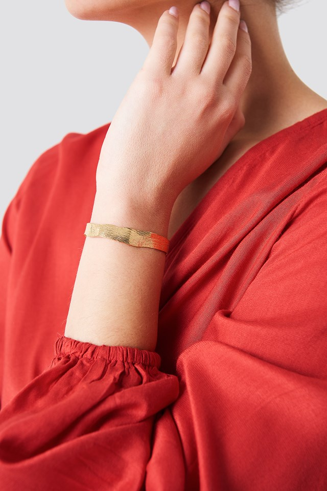 Molded Wrist Gold Plated Brass