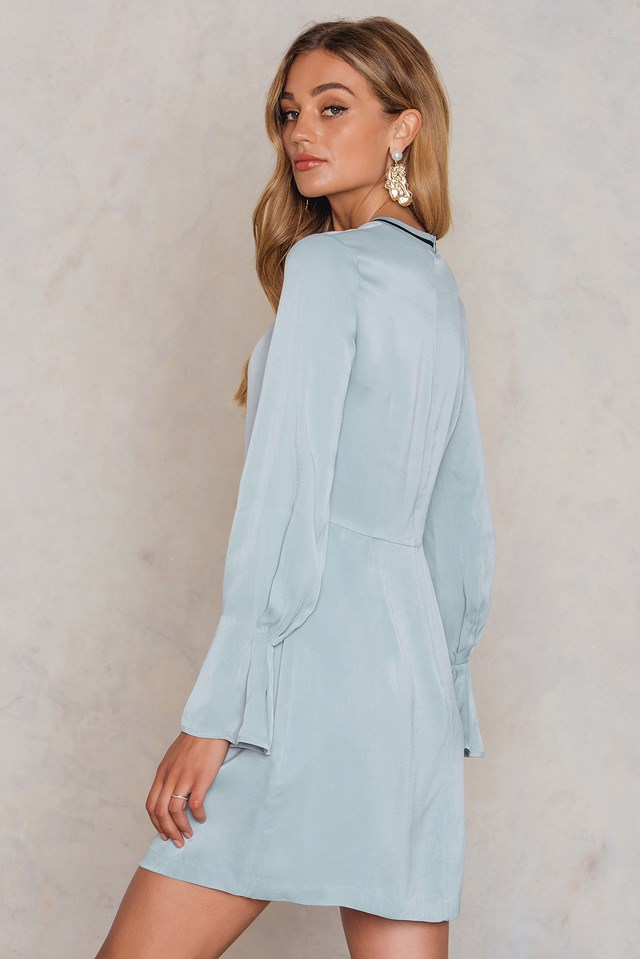 Colombe Dress Icy Blue