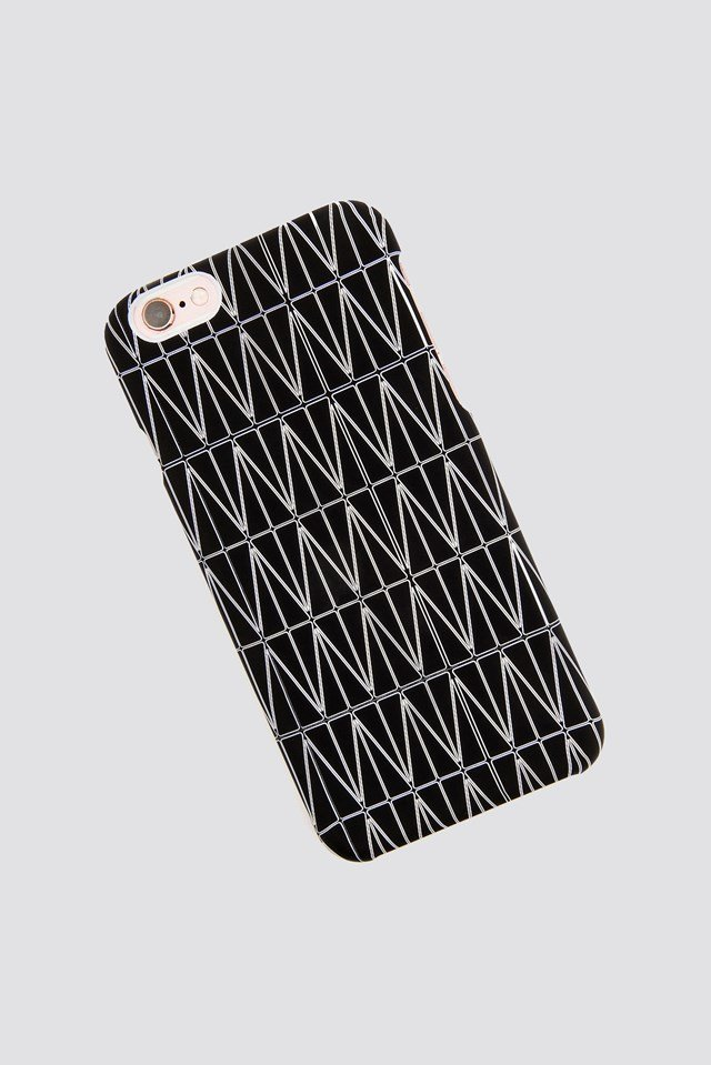 Etui na  iPhone 7/8 Grid Black