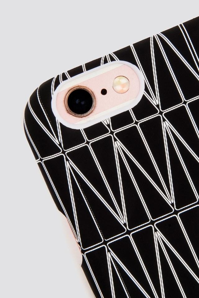 Grid iPhone 7/8 Case Black