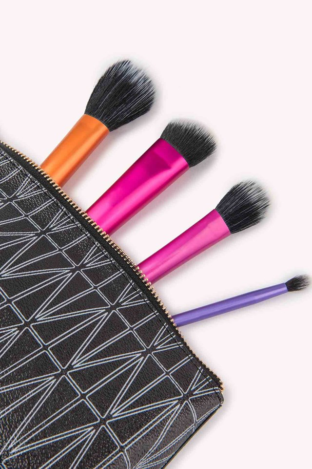 Harriot Makeup Bag Black