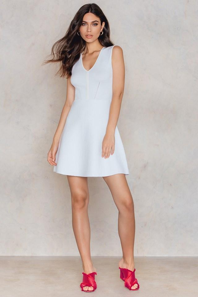 Nanette Dress White