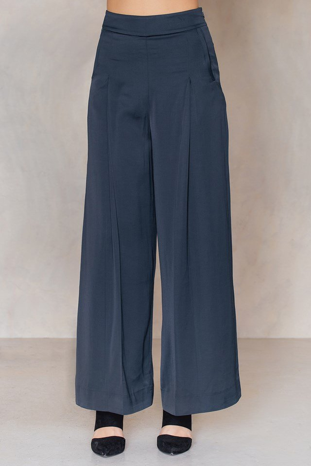 Penelope Trousers Ocean Blue