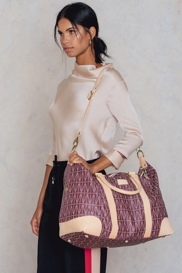 Weekend Bag Burgundy
