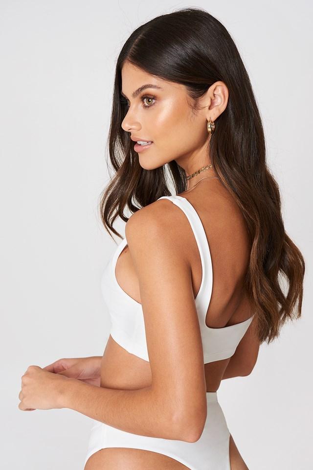 Bikini Bralette White