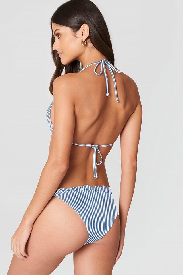 Frilled Bikini Top NA-KD.COM