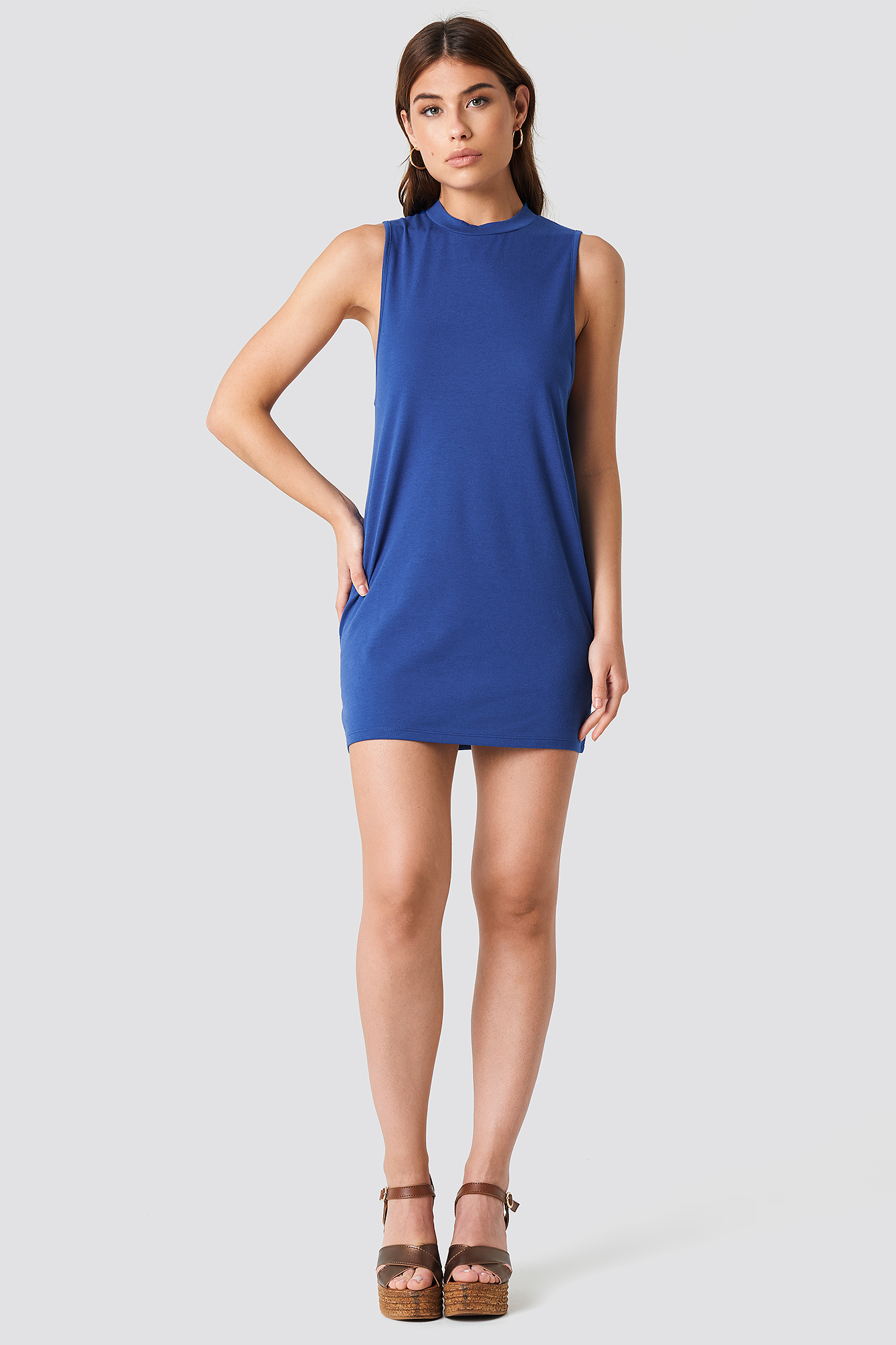 Loose Sleeveless Dress NA-KD.COM