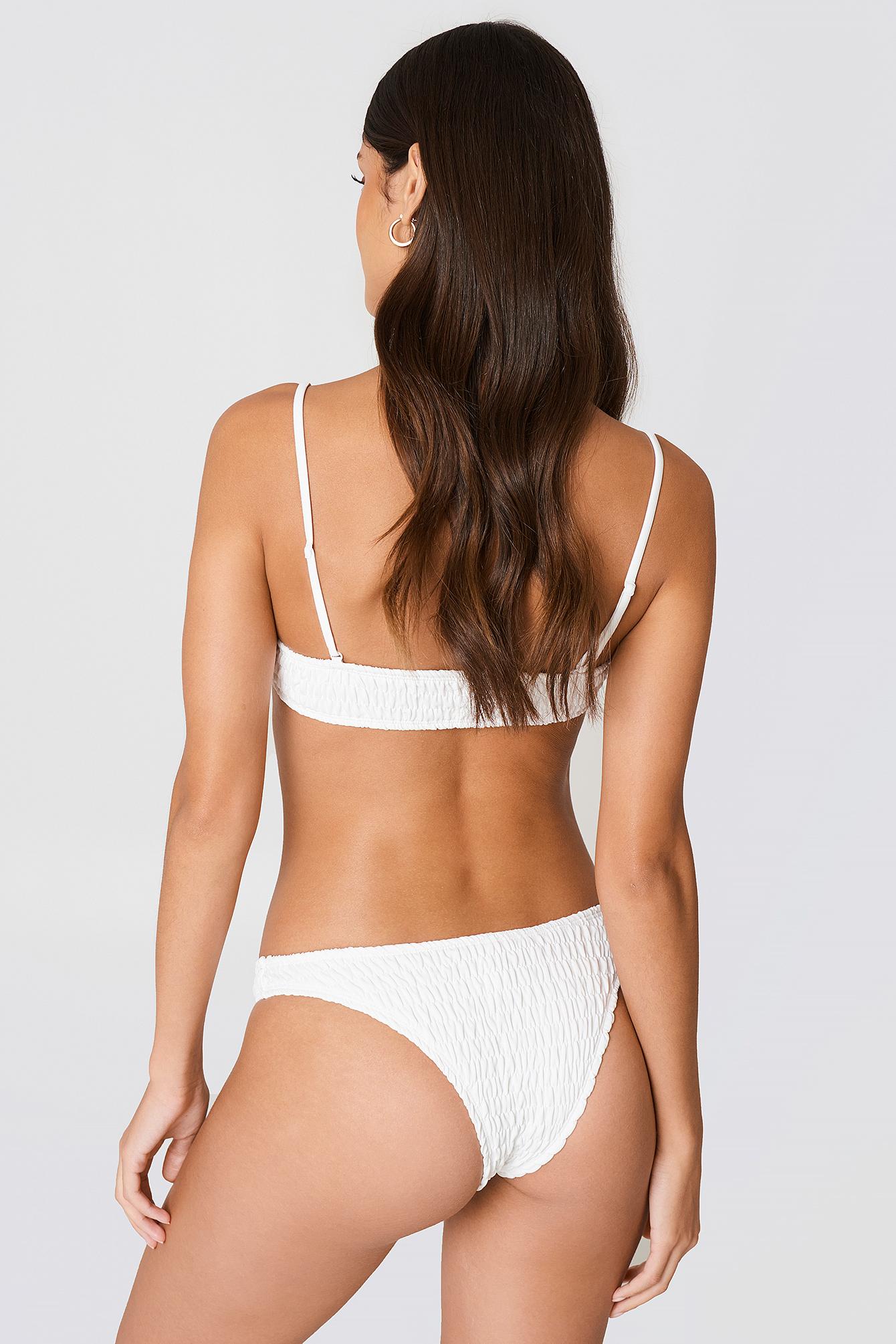 Smocked Bikini Top NA-KD.COM