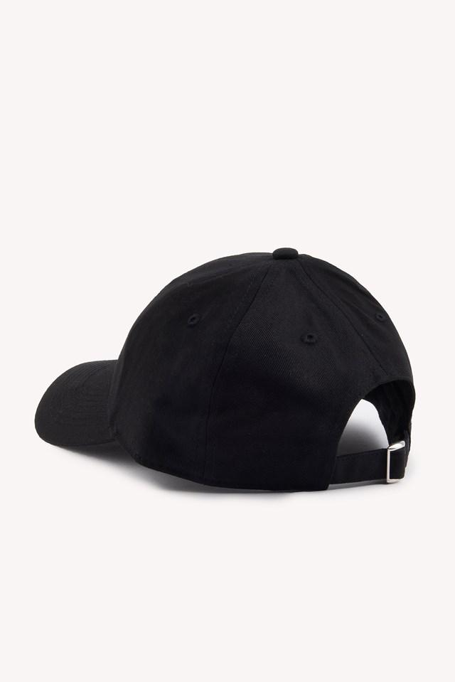 Basic Cap Black/White