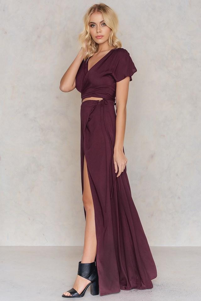 Lexi Dress Merlot