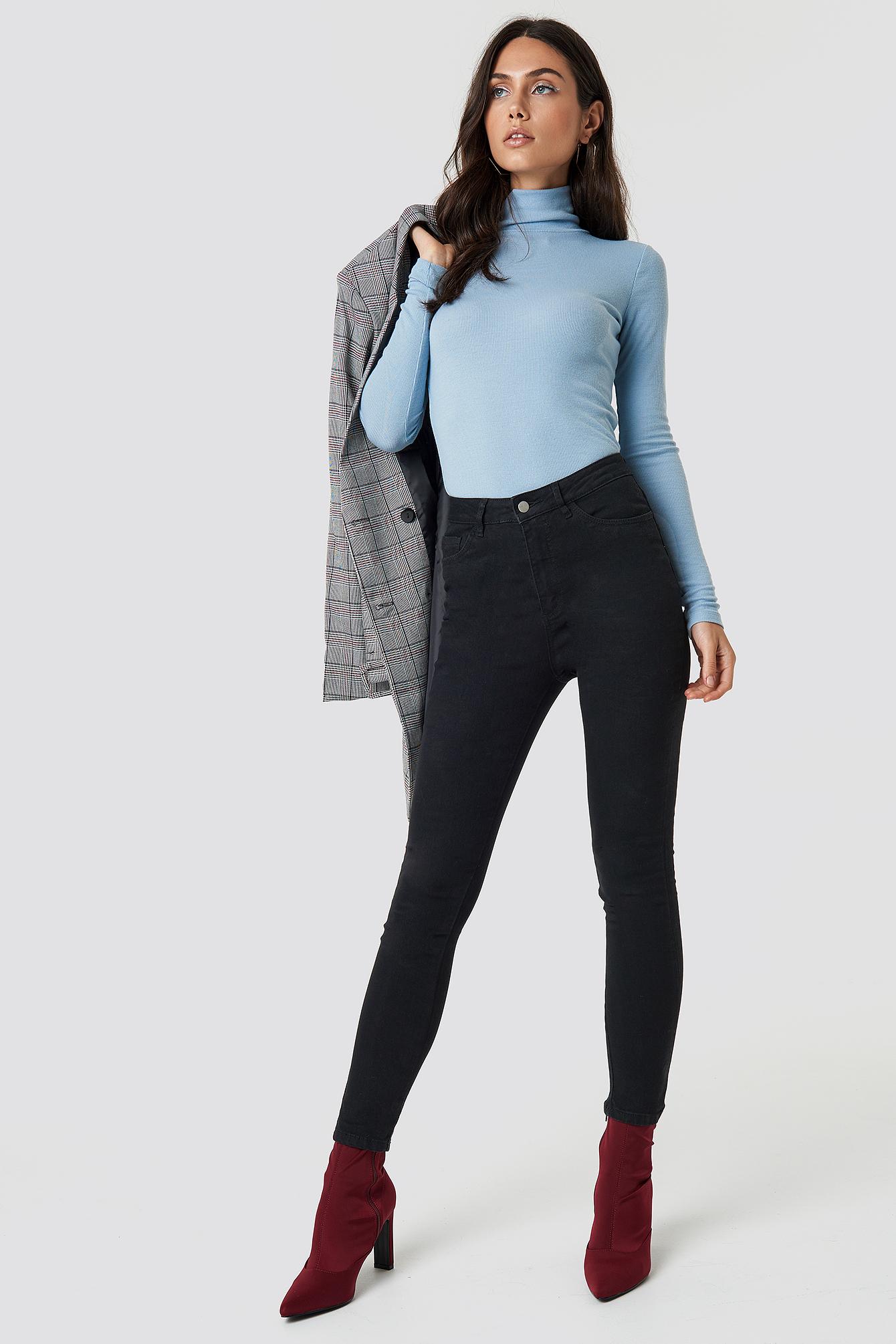 Basic Skinny Jeans NA-KD.COM