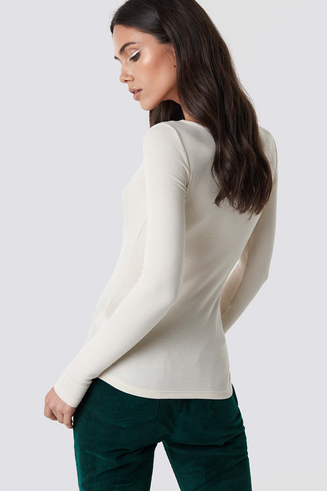 Button Rib Top NA-KD.COM