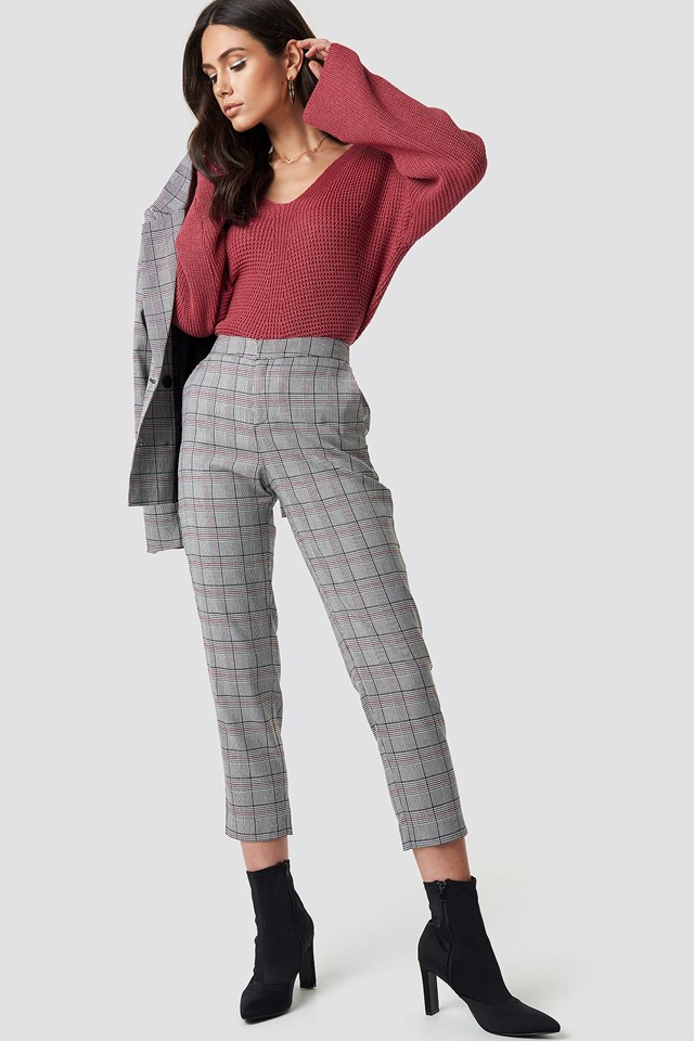 Checked Pants Dilara x NA-KD