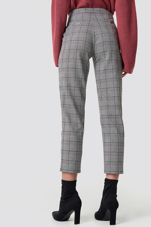 Checked Pants NA-KD.COM