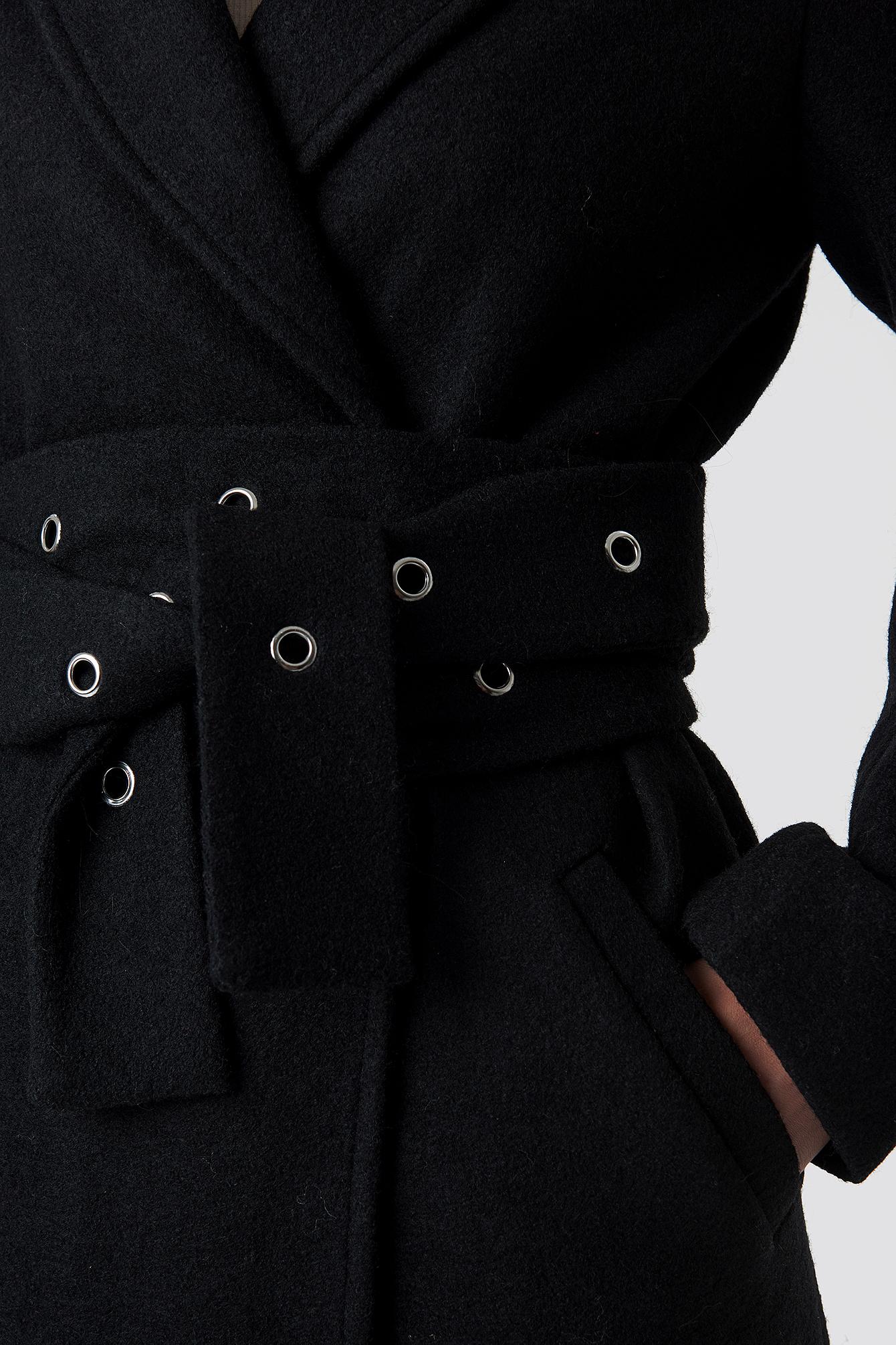 Eyelet Belted Trenchcoat NA-KD.COM