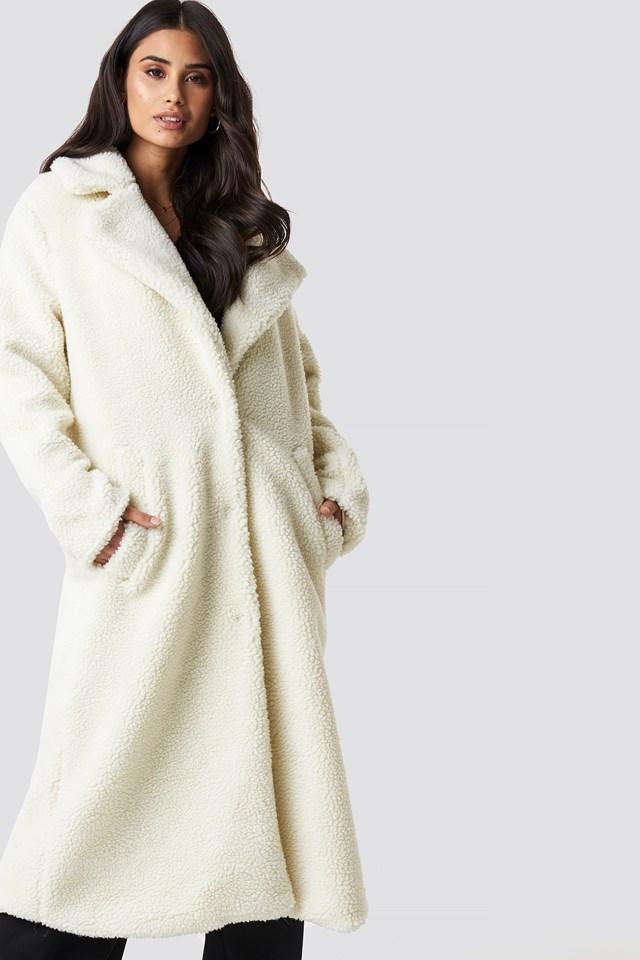 Teddy Maxi Coat NA-KD.COM