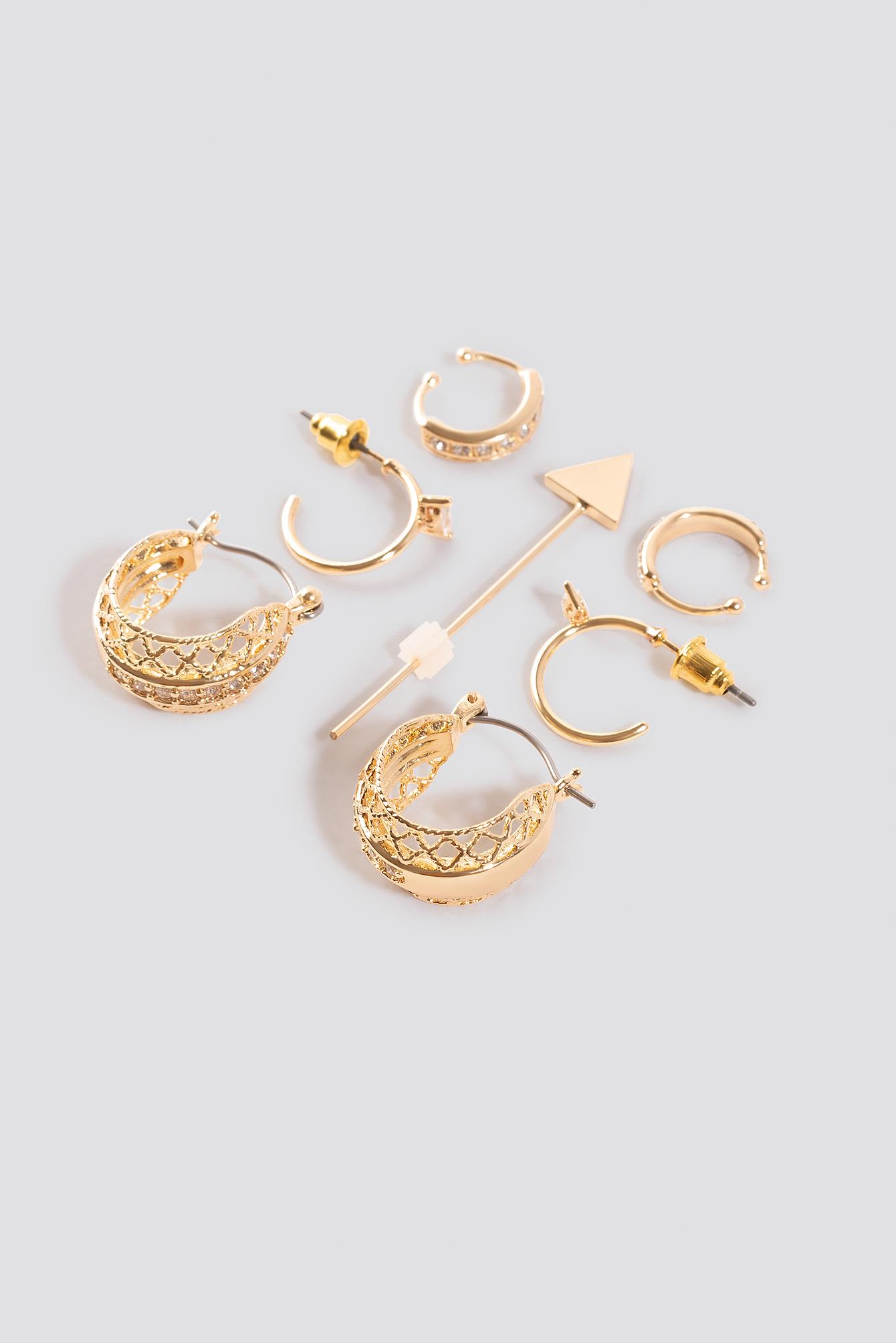 Festival Earrings Set NA-KD.COM