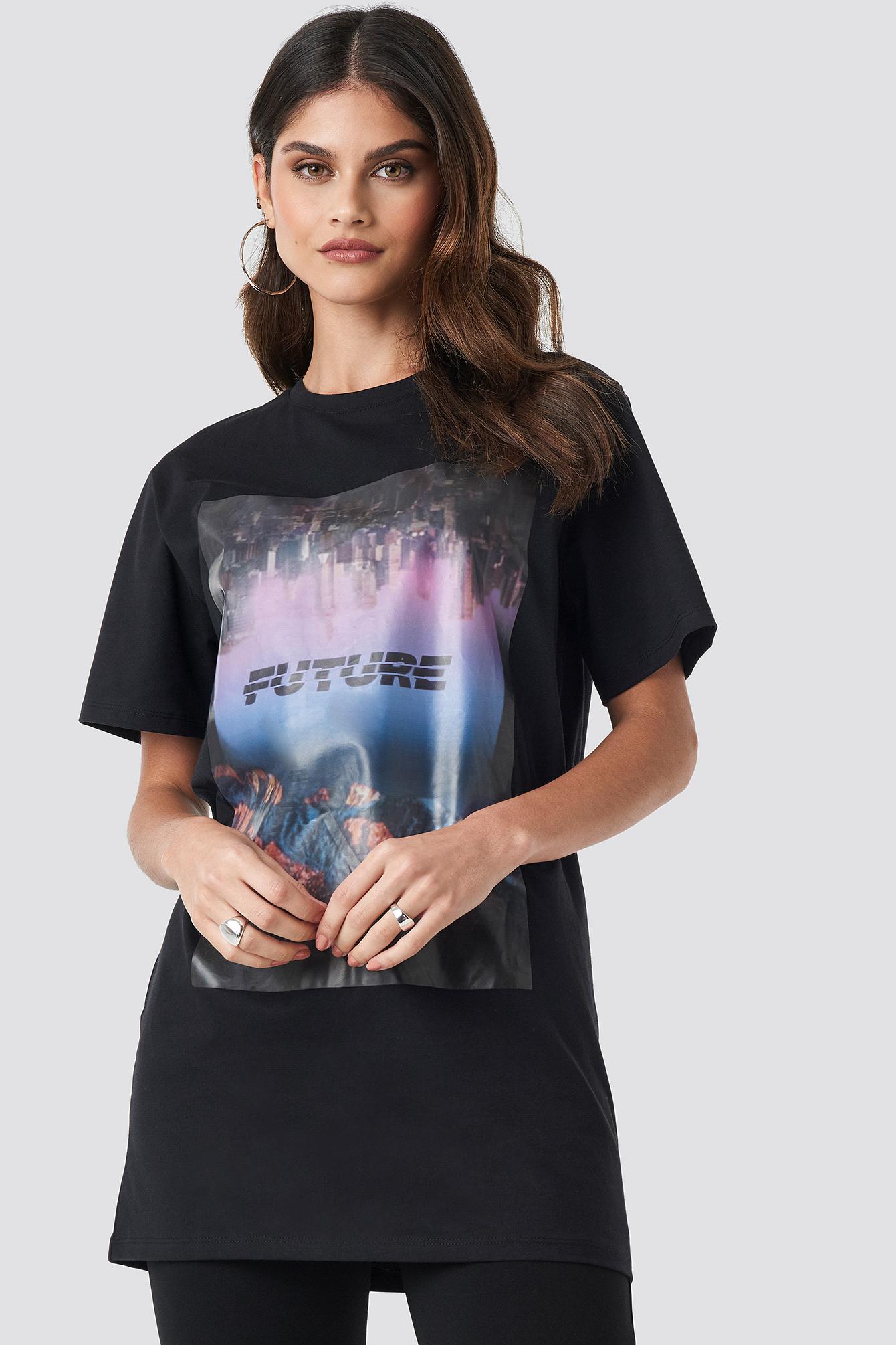 Oversized Future Tee NA-KD.COM
