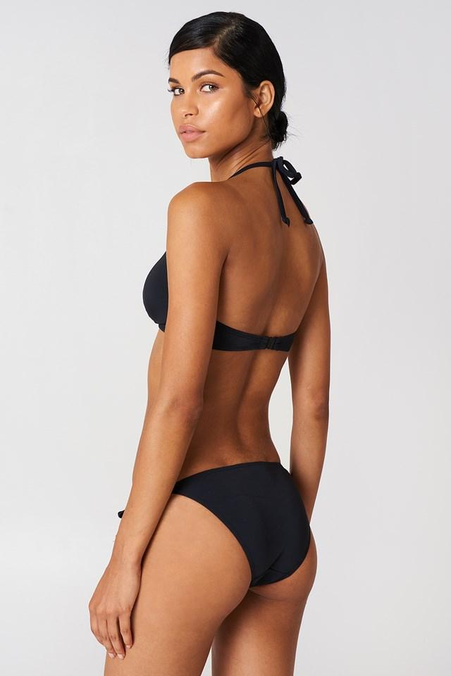 Bora Bora Triangle Bikini Top Black