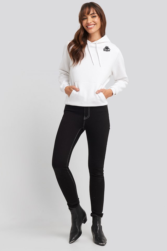 Erin Jeans Contrast Black
