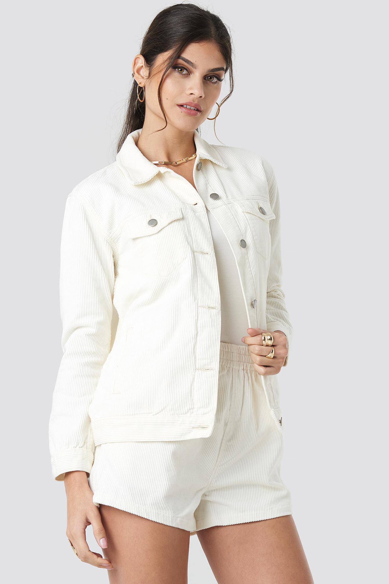 Larissa Cord Jacket NA-KD.COM