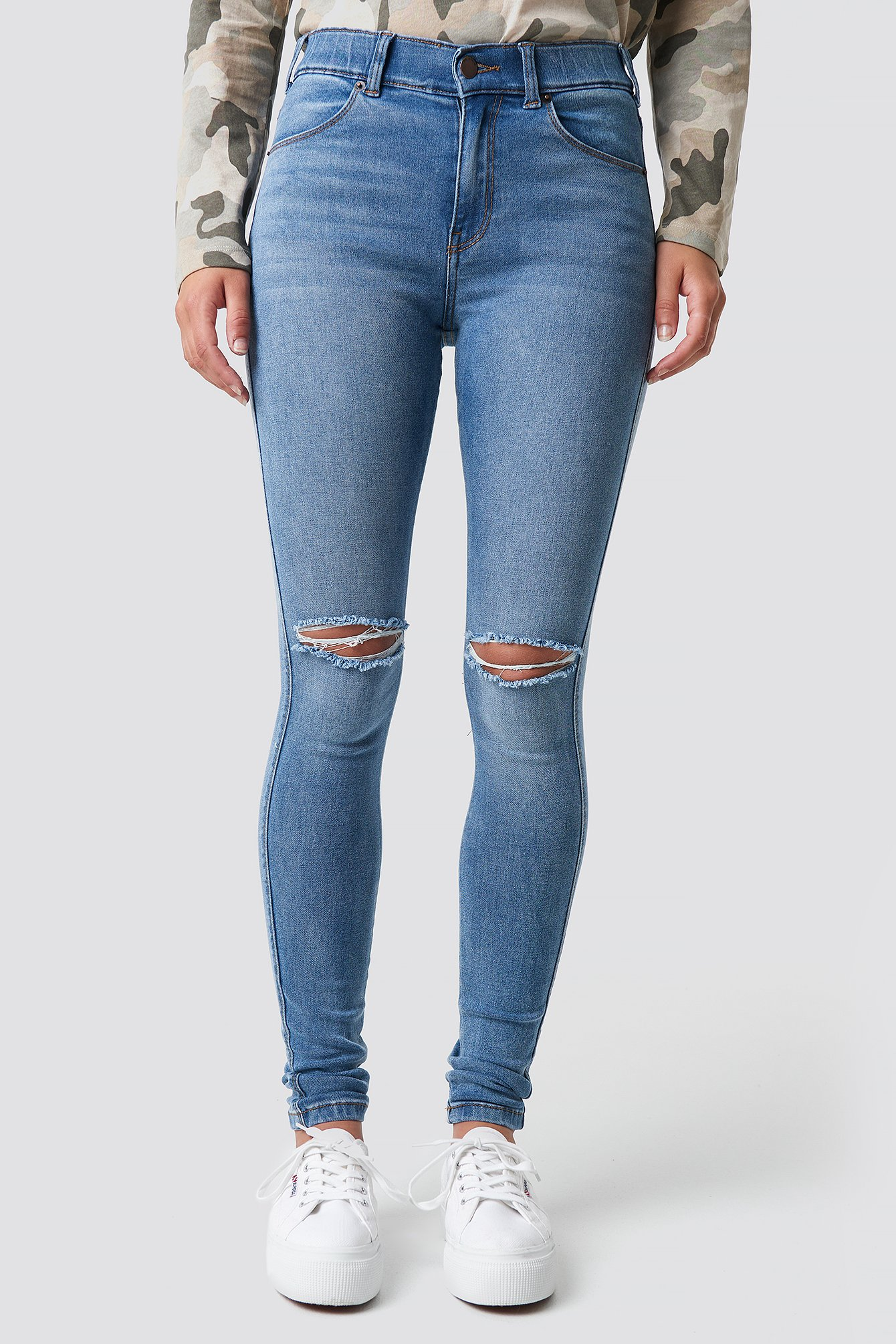 Na Lexy Light Destroyed Jeans Stone aq00WcAwIT