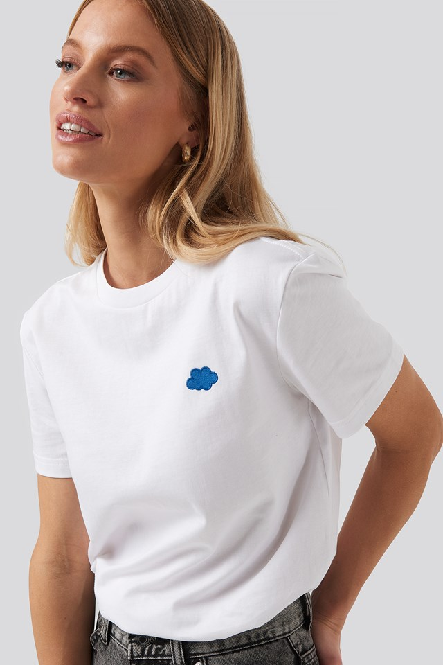 Melrose Tee Cloud White