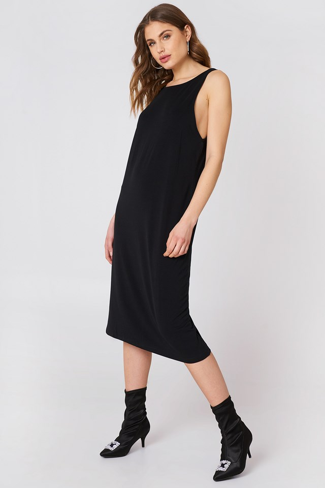 Natalia Dress Black