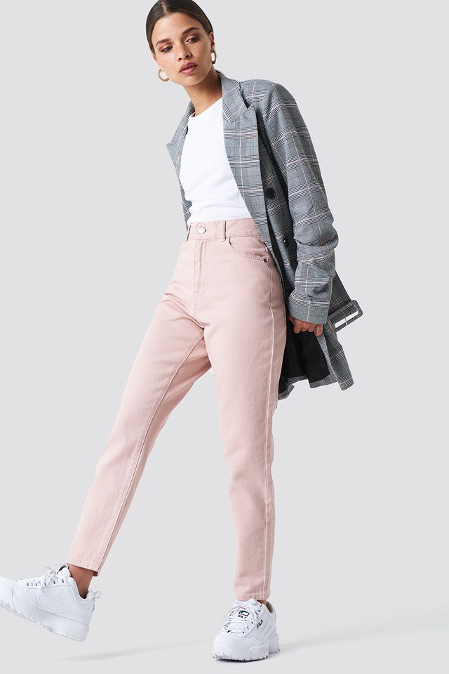 Nora Jeans Hazy Pink