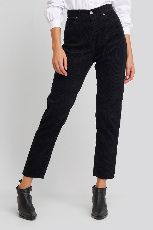 Nora Jeans Black Cord