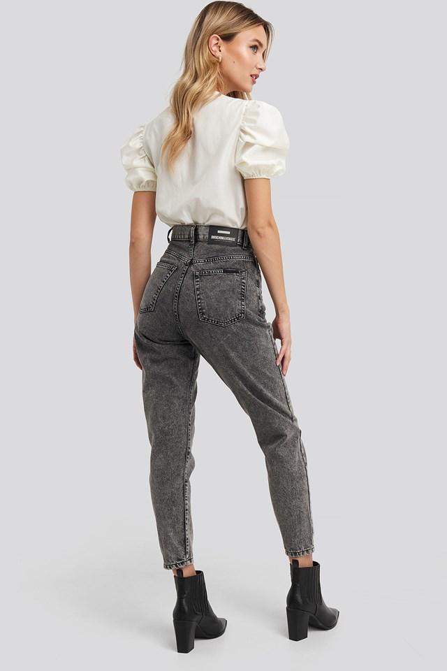 Nora Jeans Dark Grey Retro Stone