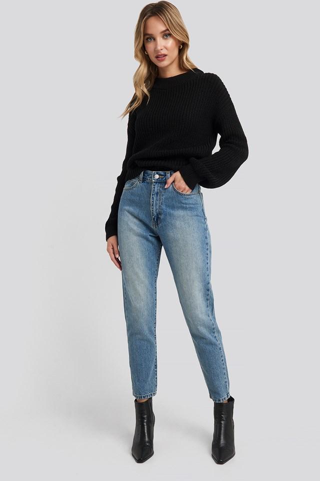 Nora Jeans Regular Blue