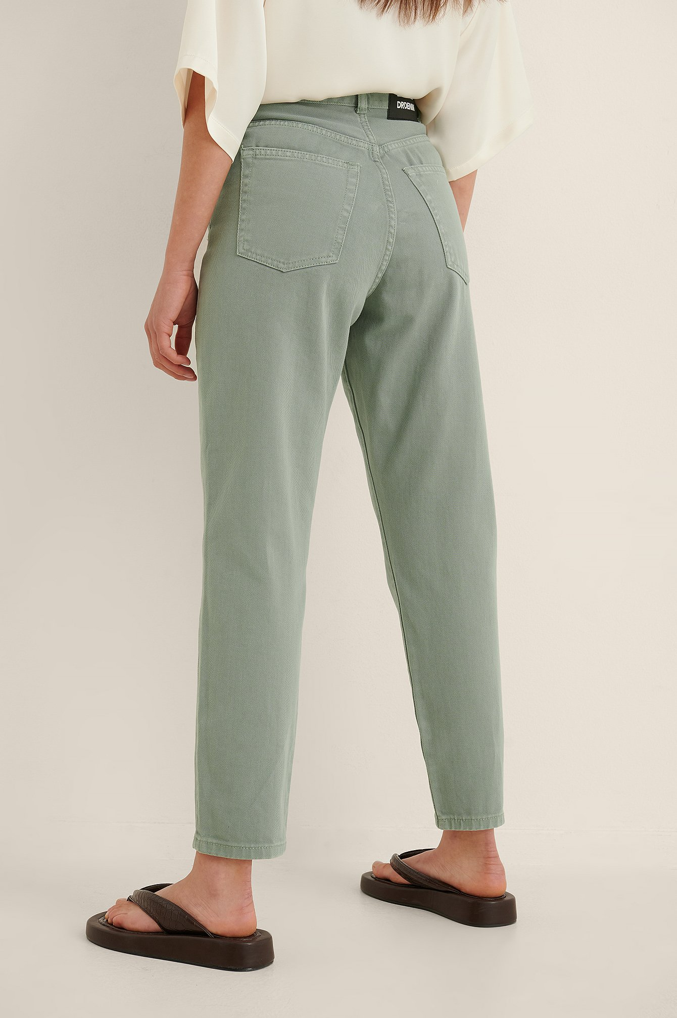 Dr Denim Mom Jeans - Green